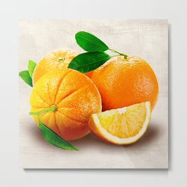 Remo Barbieri - Oranges Metal Print