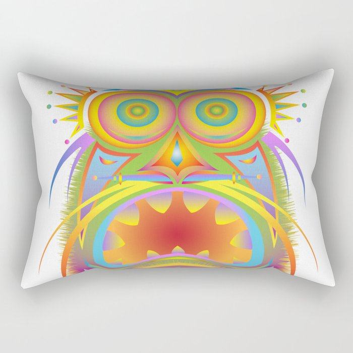tribal mask 2 Rectangular Pillow