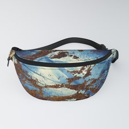Sapphire & opal textures Fanny Pack