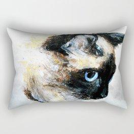 Siamese Cat Rectangular Pillow