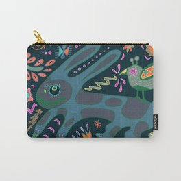 Jumping Rabbit Carry-All Pouch