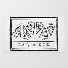 Eat, or Die Rug