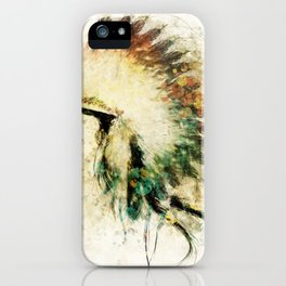 Native American Boho Headdress Sideview iPhone Case