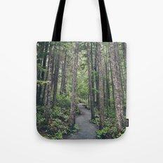A walk through the trees Tote Bag