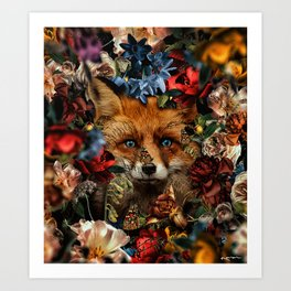 the eyes, chico Art Print