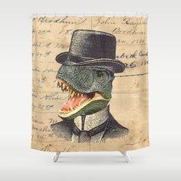 Dino Dandy Shower Curtain
