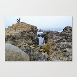 On Top in Monterey Canvas Print