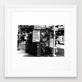 Hot Dog Stands of Toronto - II Framed Art Print