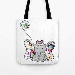 Elephant Baby Tote Bag