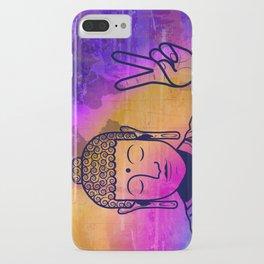 Buddha World Peace iPhone Case