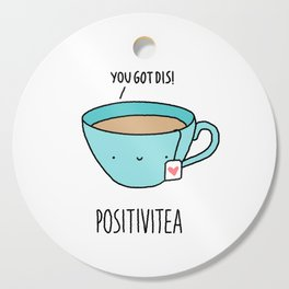 Positivitea Cutting Board