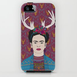 DEER FRIDA iPhone Case