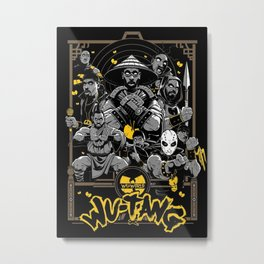 Wu Tang Forever Metal Print
