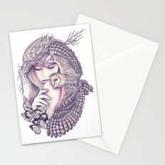Owl Spirit Stationery Cards