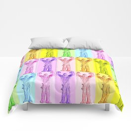 Chewy Roy G Biv  |  Chewbacca Comforters