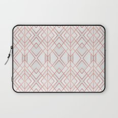Geo Rose Gold Laptop Sleeve