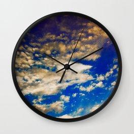 bright sky Wall Clock