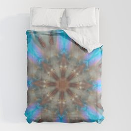 Frozen Snow Crystal Comforters