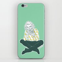 cyrilliart iPhone & iPod Skins featuring Banana Boy by Cyrilliart