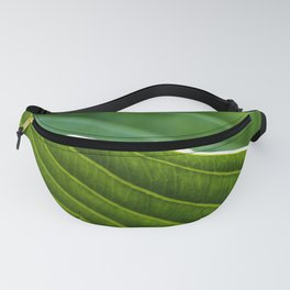 on the edge of a leaf Fanny Pack