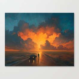 Perfomance of the Heaven Canvas Print