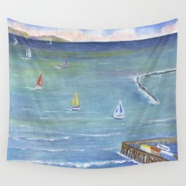 Catalina to Redondo Wall Tapestry