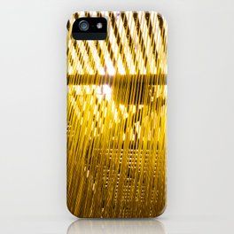 Yellow Hair iPhone Case