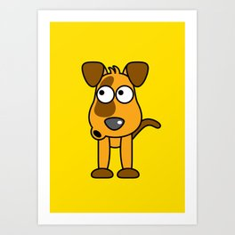 Ooh Zoo – Dog Art Print