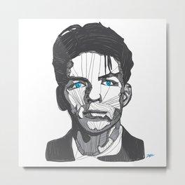 Ol' Blue Eyes Metal Print