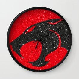 Thundercats worn logo Wall Clock