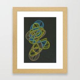 Small Nebula One Framed Art Print