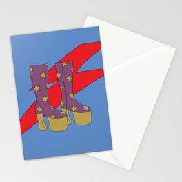 Glam Rock Rebel Stationery Cards