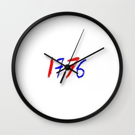 1776-Declaration of Independence 2 Wall Clock