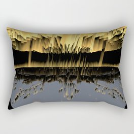 Against an asteroid attack Rectangular Pillow