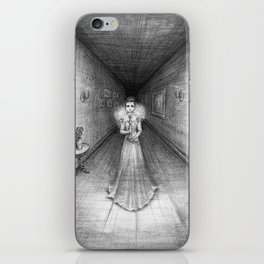 The White Lady iPhone Skin