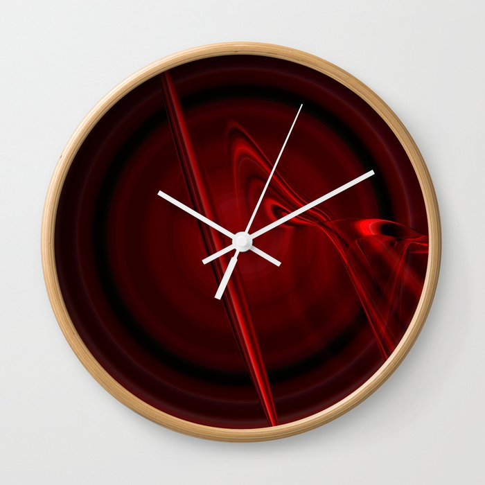 Blood Cell (Red series #3) Wall Clock