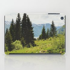 the forest and the fjords iPad Case