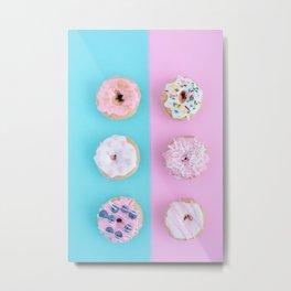 donuts #society6 #buyart #homedecor Metal Print