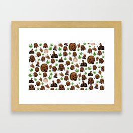 SNOOP Framed Art Print