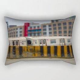 Number 7 Train NYC Rectangular Pillow