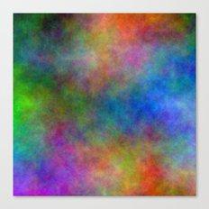 Digital Watercolor Clouds Canvas Print