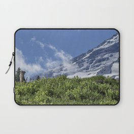 Marmot Checking Out His Neighborhood at Mount Rainier, No. 1 Laptop Sleeve