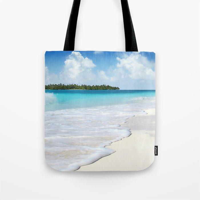 Paradise Ocean #waves Tote Bag