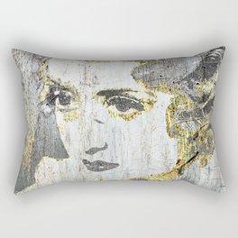 Silver Screen Bette Davis Rectangular Pillow