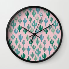 Candy Cactus Wall Clock