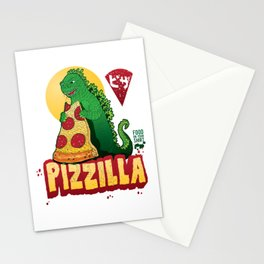 pizzilla Stationery Cards