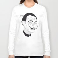 dali Long Sleeve T-shirts featuring DALI by pointing@faces