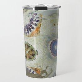 Mayapples Pattern Flowers  ID:16165-061955-58480 Travel Mug