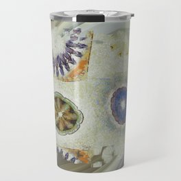 Mayapples Pattern Flowers  ID:16165-061955-58480 Travel Mug
