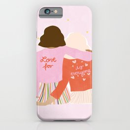 Love Is For Everyone iPhone Case